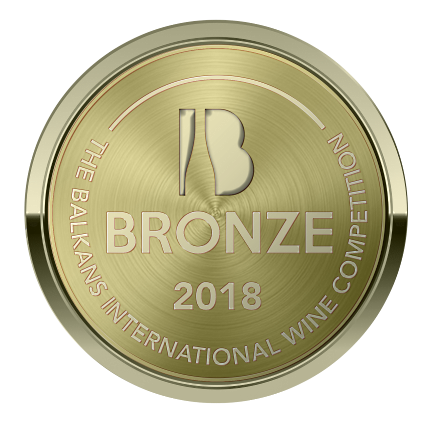BIWC2018, Χάλκινο μετάλλιο για το Μερλό-Μούχταρο 2016