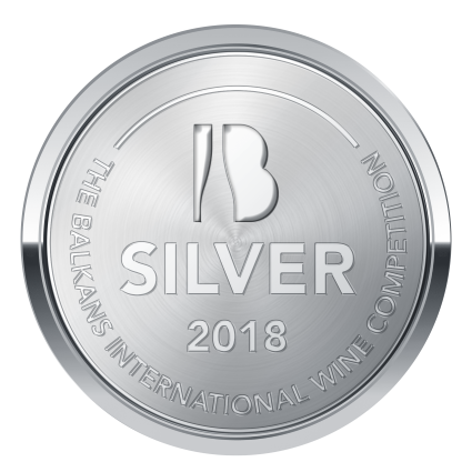 BIWC2018, Silver medal, two rivers Rose, Grenache Rouge