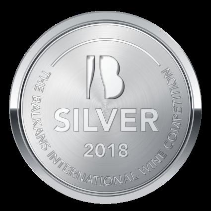 BIWC2018, Ασημένιο μετάλλιο, δυό ποτάμια Ροζέ, Grenache Rouge