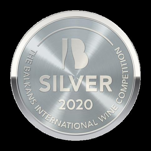 BIWC2020, Ασημένιο μετάλλιο, δύο ποτάμια Ροζέ, Grenache Rouge