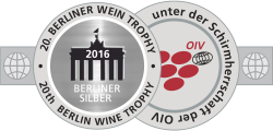 BWT2016, Silbermedaille, two rivers Weißwein (Kontoura) Barrique 2014