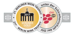 BWT2017, Goldmedaille, two rivers Weißwein (Kontoura) Barrique 2015