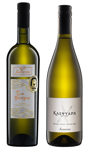 two rivers white and Klepsidra white are ambassador wines for Greece